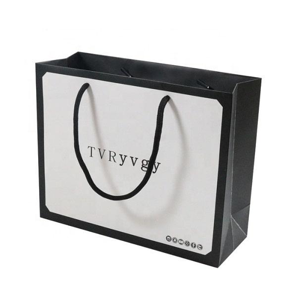 Mẫu túi giấy Ivory thiết kế đẹp