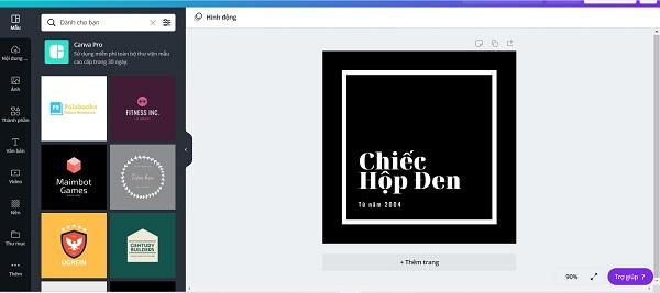 Bạn có thể sử dụng các trang web tạo cho mình một mẫu logo