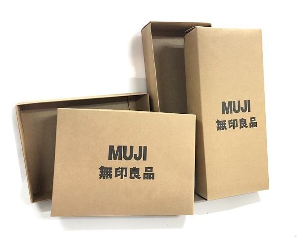 Mẫu hộp đồ lót Muji được gia công tại Lạc Hồng