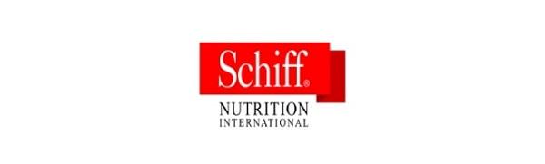 """Mẫu logo thực phẩm chức năng Schiff - """" Dinh dưỡng quốc tế"""""""