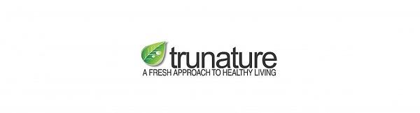 """Mẫu logo thực phẩm chức năng Trunature - """" Một cách tiếp cận mới với cuộc sống lành mạnh"""""""