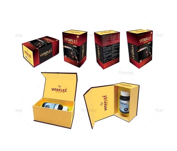Mẫu thiết kế hộp giấy và logo do Lạc Hồng sản xuất