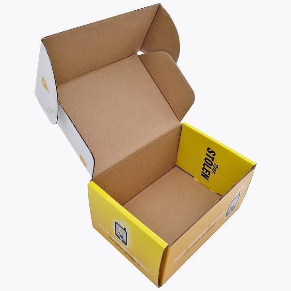 Mẫu vỏ nắp hộp giấy liền khối đựng vịt quay