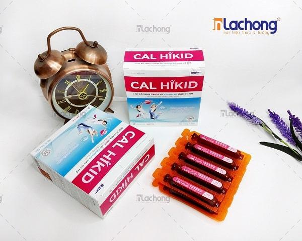 Sản xuất vỏ hộp đựng thực phẩm chức năng CAL HIKID
