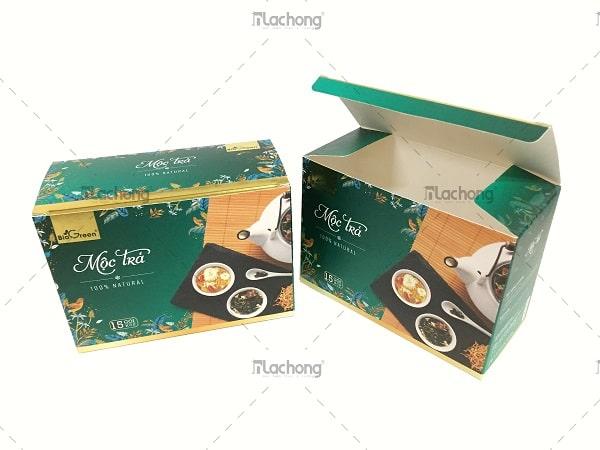 Mẫu in hộp giấy thực phẩm hỗ trợ giảm cân cho khách hàng