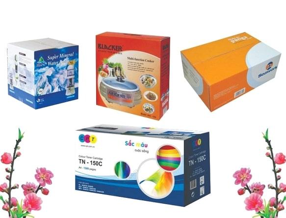 Thiết kế hộp giấy đẹp giúp tăng hiệu quả kinh doanh