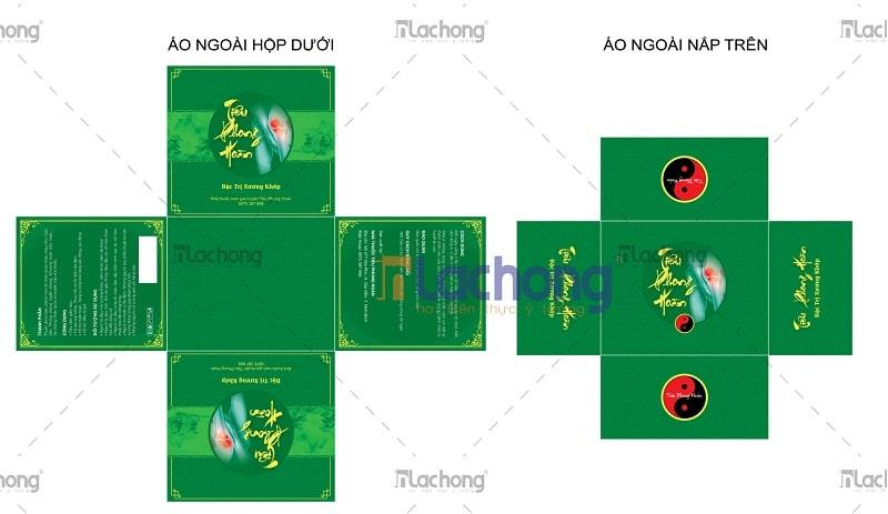 Thiết kế vỏ hộp thuốc Tiêu Phong Hoàn