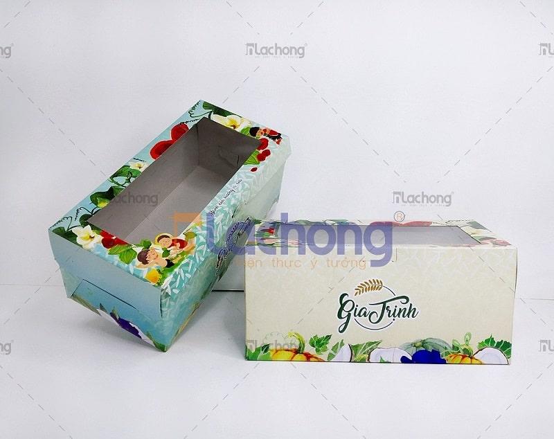 Sản xuất hộp giấy Duplex đựng bánh Gia Trịnh