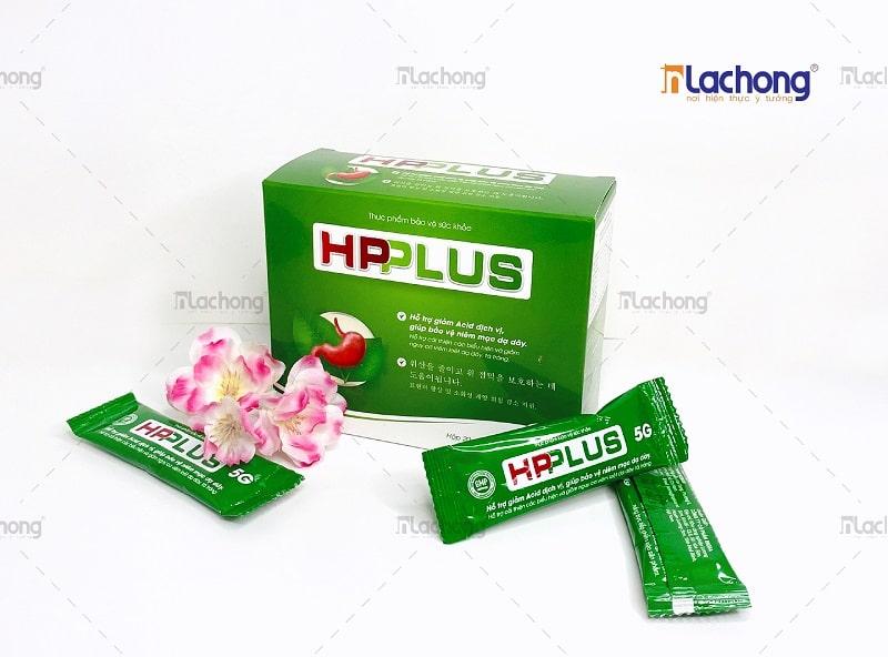 In hộp giấy đựng thực phẩm chức năng HPPLUS bằng chất liệu Ivory