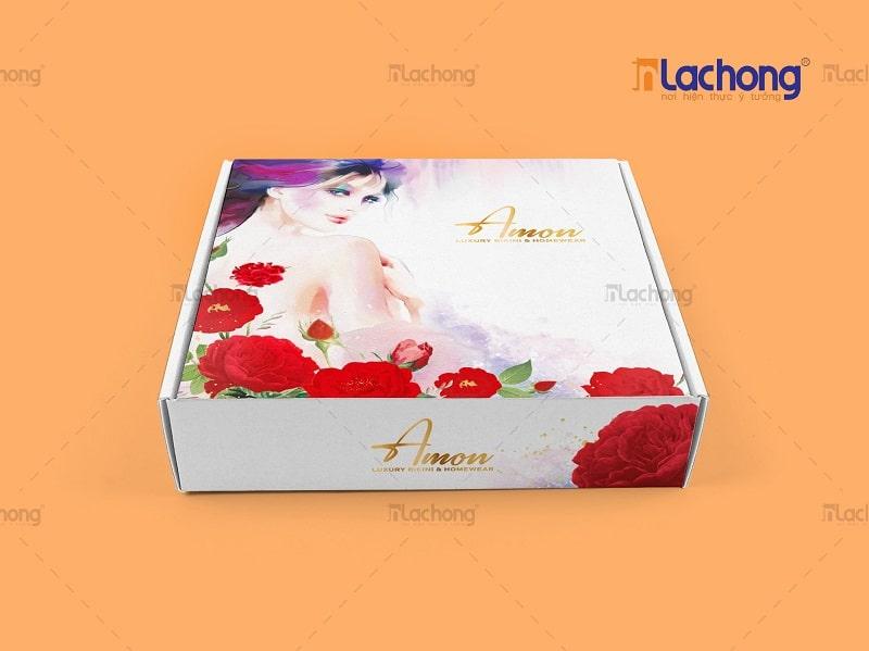 Thiết kế hộp đựng BIKINI AMON