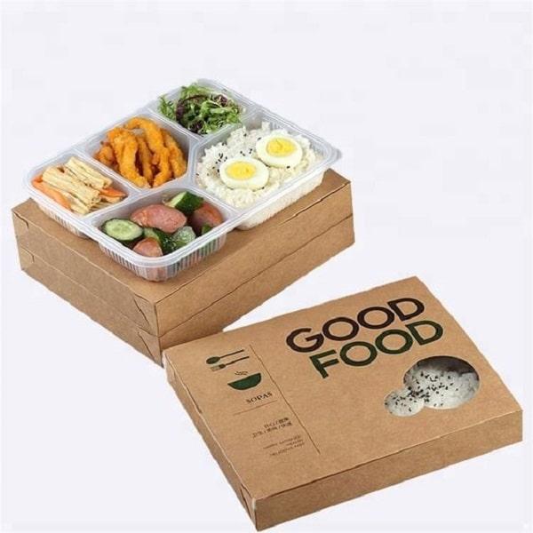 In hộp giấy đựng đồ ăn mang đi