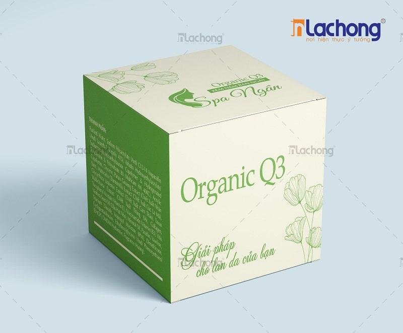 Thiết kế hộp giấy đựng mỹ phẩm cho các thương hiệu SPA của Lạc Hồng